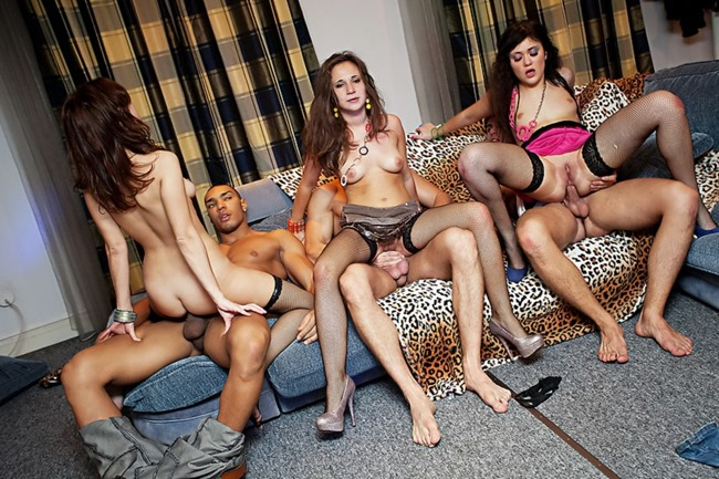 Luscious adult party